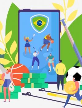 As apostas online no Brasil vêm crescendo a cada dia