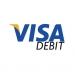 Pagamento Visa Debit logotipo